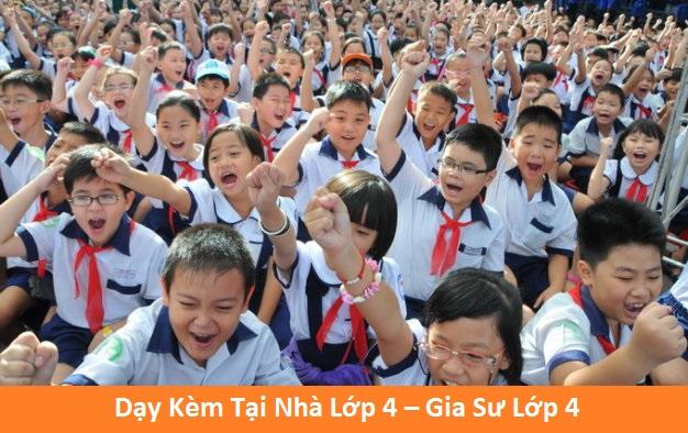 Dạy Kèm Tại Nhà Lớp 4 – Gia Sư Lớp 4