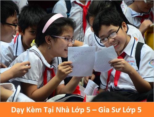 Dạy Kèm Tại Nhà Lớp 5 – Gia Sư Lớp 5