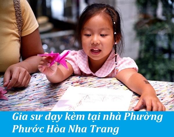 Gia sư dạy kèm tại nhà Phường Phước Hòa Nha Trang