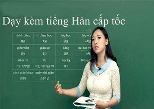 Dạy Kèm Tiếng Hàn Nha Trang